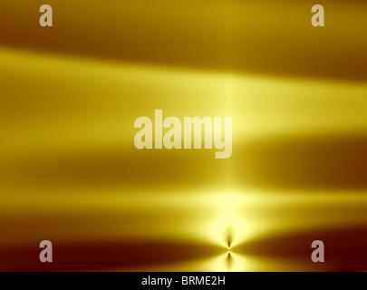 Abstract sunset illustration - Stock Photo