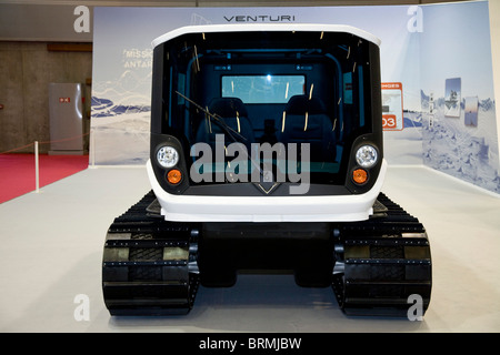 Paris motor show 2010 and the Venturi Mission Antartica - Stock Photo