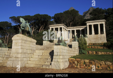Rhodes Memorial designed by Sir Herbert Baker as a tribute to Cecil John Rhodes - Stock Photo