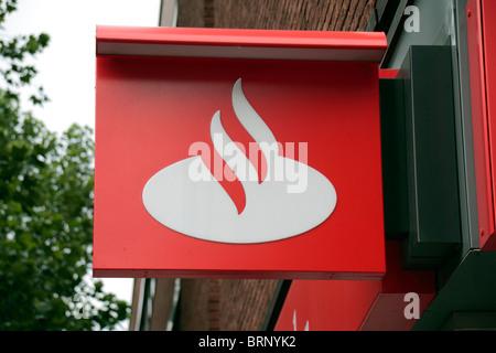 Banco Santander Sign And Logo Stock Photo 48202694 Alamy