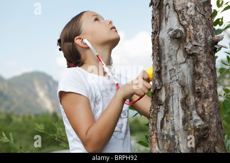 Free Time in the Mountains - Stock Photo