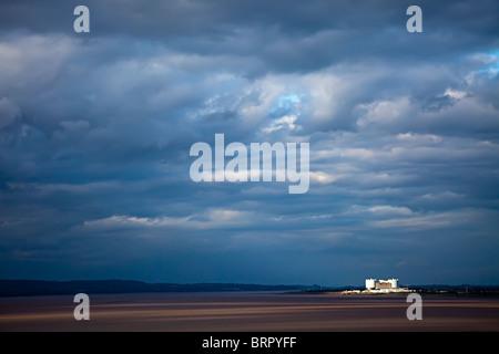 Oldbury Nuclear Power Station Severn Estuary England UK - Stock Photo