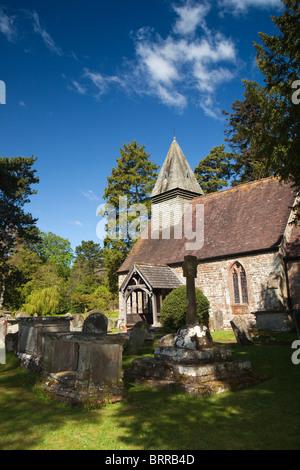 UK, Herefordshire, Putley village church - Stock Photo