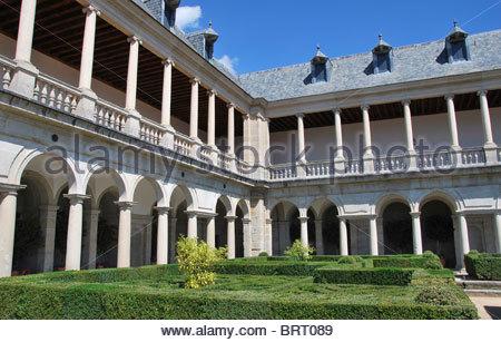 Archway in the Royal Monastery of El Escorial - Stock Photo