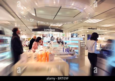 Perfumery, shopping center, City Point, pedestrian area, Nuremberg, Bavaria, Germany, Europe - Stock Photo