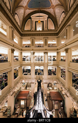 Interior Of Atrium In Macy S Store Department Formerly