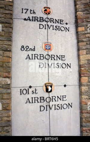 The Mardasson Memorial at Bastogne for the American soldiers wounded or killed in the Battle of the Bulge, Belgium. - Stock Photo