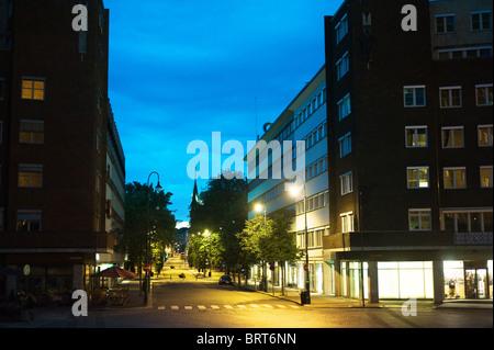 city center oslo norway scandinavia europe stock photo. Black Bedroom Furniture Sets. Home Design Ideas