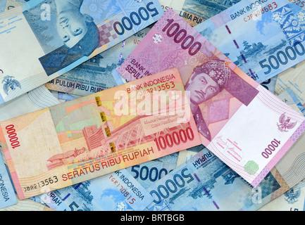 Indonesian rupiah - Stock Photo