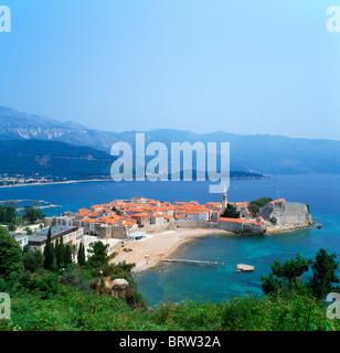 Old town, Budva, Montenegro - Stock Photo