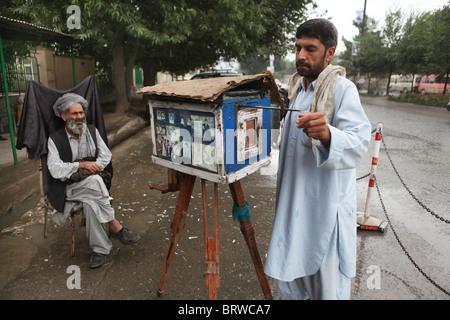 last analog camera in kabul - Stock Photo