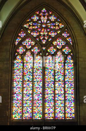 Church Window By Gerhard Richter In Koelner Dom Cologne