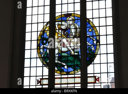 St. Mary the Virgin Church, Wellingborough, Northamptonshire, England, UK - Stock Photo