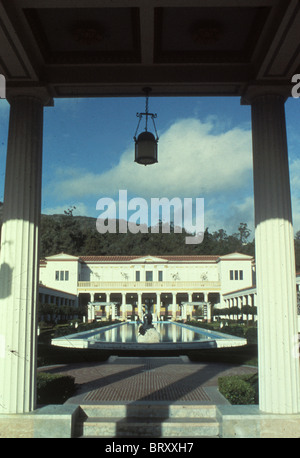 Getty Villa Museum Malibu Los Angeles Southern California in early 1980s - Stock Photo