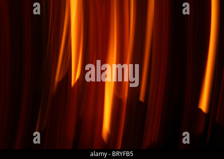 Flames of fire can use as a background - Stock Photo