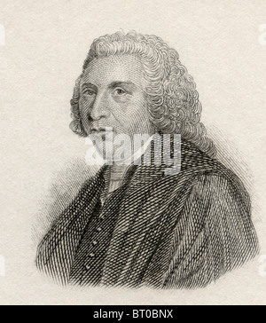Hugh Blair, 1718 to 1800. Scottish minister of religion, author, and theorist of written discourse. - Stock Photo