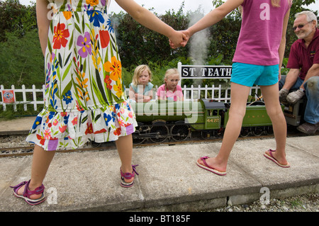 Children holding hands. - Stock Photo