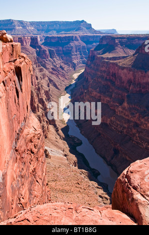 Grand Canyon and Colorado River seen from Toroweap Point, Tuweep Area, Grand Canyon North Rim, Arizona, USA