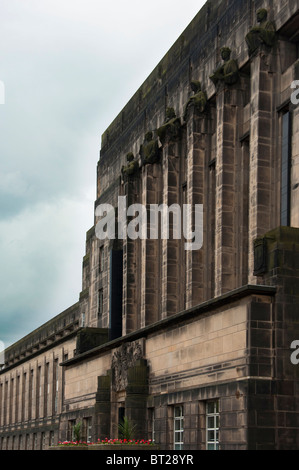 St. Andrew's House is a large, Category 'A' listed Art Deco-influenced building south of Calton Hill, Edinburgh, - Stock Photo