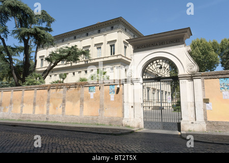 Villa Farnesina, seat of the Accademia dei Lincei, Rome - Stock Photo
