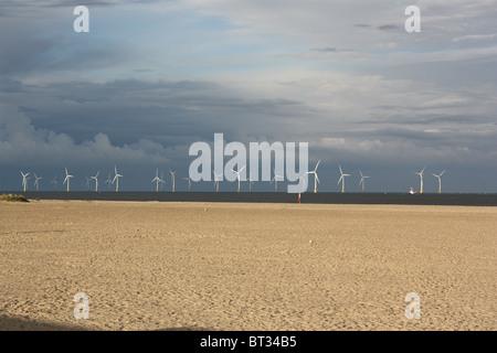 Gt Yarmouth Beach - Stock Photo