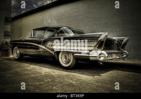 vintage Buick Riviera - Stock Photo