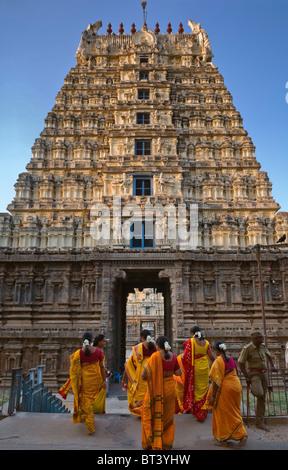 Jalakantesvara Temple Vellore Fort Tamil Nadu India - Stock Photo