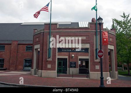 Salem Armory and Visitors Center, Salem Maritime National Historic Site, Salem, Massachusetts, United States of - Stock Photo