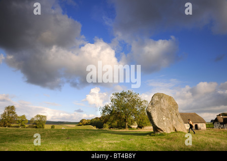 Avebury vista - Stock Photo