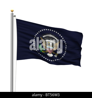 Flag of the President of the United States - Stock Photo