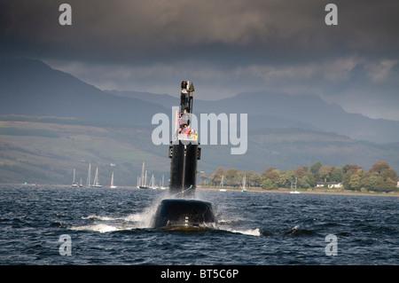 Submarine Ula of the Norwegian Navy - Stock Photo