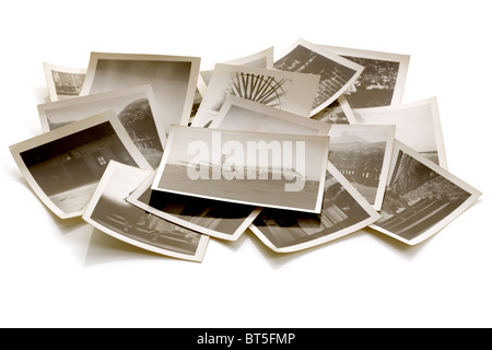 Old photographs - Stock Photo