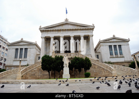 The National Library of Athens in Greece - Stock Photo