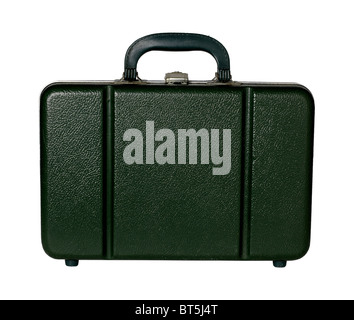 Green plastic case - Stock Photo