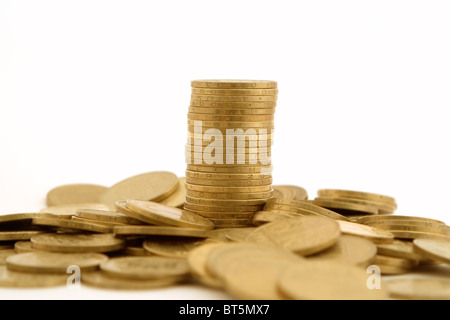 a lot of coins 2 - Stock Photo