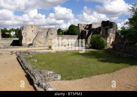 Wolvesey Castle Winchester - Stock Photo