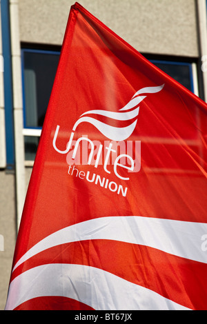 Unite Union flag - Stock Photo