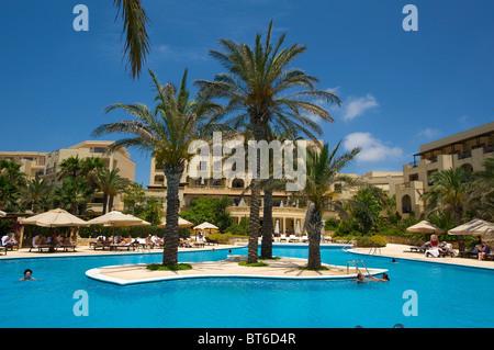 Kempinski Hotel in San Lawrence, Gozo Island, Malta - Stock Photo