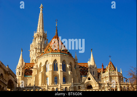Church of Our Lady or Matthias Church ( Mátyás templom), Castle District, Budapest Hungary  - Stock Photo