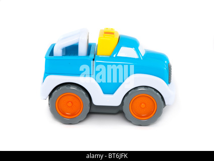 Blue toy car - Stock Photo