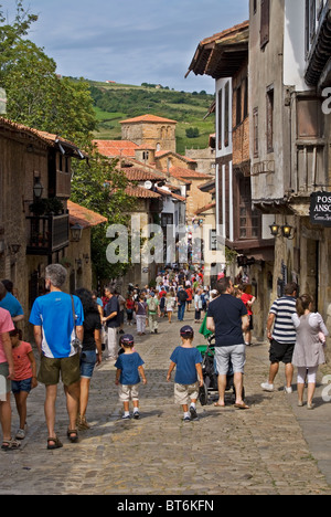 Santillana del Mar, Cantabria, Spain. - Stock Photo