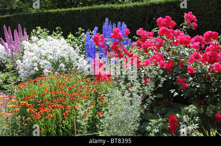ENGLISH  COUNTRY GARDEN - Stock Photo