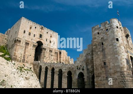 Aleppo Castle Syria - Stock Photo