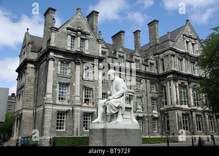 Trinity College in Dublin, Ireland - Stock Photo