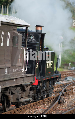 Class A1X Locomotive, 55, Stepney, Bluebell Railway, Sussex, England