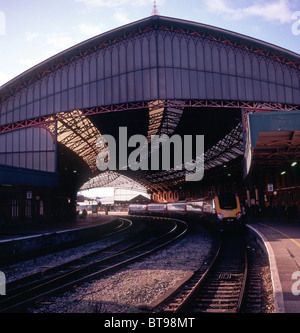 Temple Meads railway station Bristol England - Stock Photo
