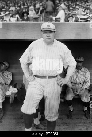 a biography of george herman ruth jr George herman babe ruth jrborn february 6, 1895 (baltimore, maryland) died august 17, 1948 (new york, new york) baseball player i swing big, with.