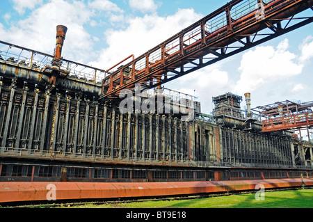 Coking plant, Zeche Zollverein mine, industrial monument, Unesco World Heritage Site, Route der Industriekultur - Stock Photo