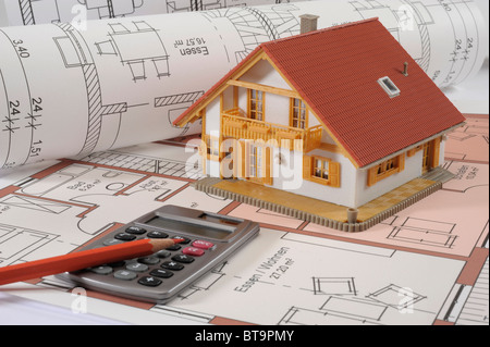 House building calculator stock photo royalty free image for Build a house calculator free