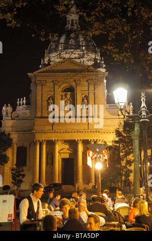 France, Paris, Sorbonne University, Église de la Sorbonne Church, - Stock Photo